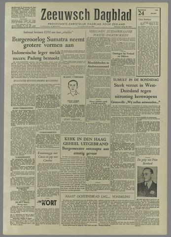 Zeeuwsch Dagblad 1958-03-24