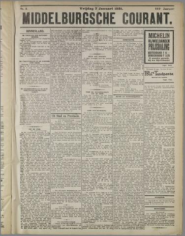 Middelburgsche Courant 1921-01-07