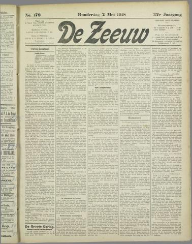 De Zeeuw. Christelijk-historisch nieuwsblad voor Zeeland 1918-05-02