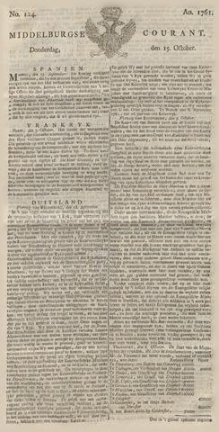 Middelburgsche Courant 1761-10-15