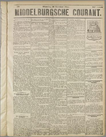 Middelburgsche Courant 1922-10-10