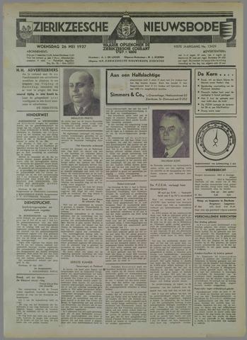Zierikzeesche Nieuwsbode 1937-05-26