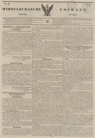Middelburgsche Courant 1843-04-29