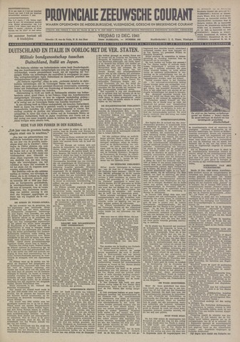 Provinciale Zeeuwse Courant 1941-12-12