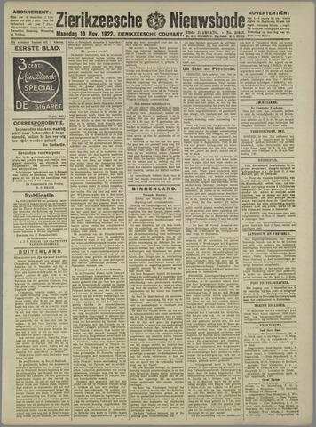 Zierikzeesche Nieuwsbode 1922-11-13
