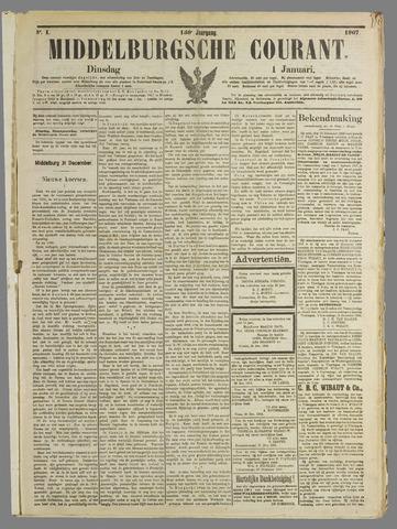 Middelburgsche Courant 1907