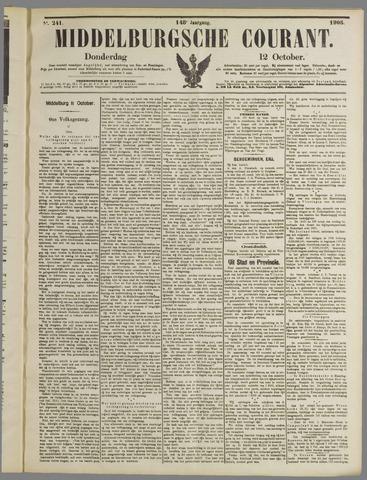 Middelburgsche Courant 1905-10-12