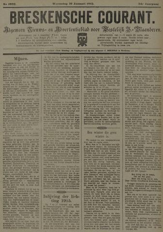 Breskensche Courant 1915-01-27