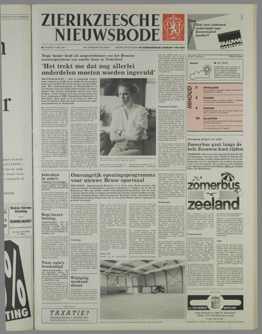 Zierikzeesche Nieuwsbode 1991-05-31