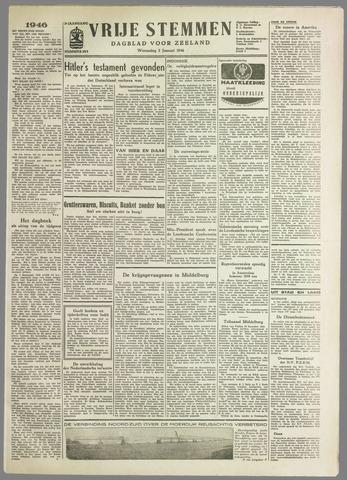 Vrije Stemmen. Dagblad voor Zeeland 1946