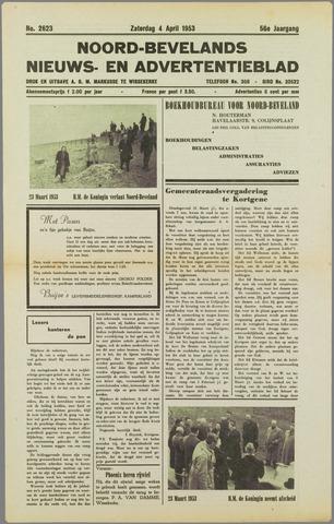 Noord-Bevelands Nieuws- en advertentieblad 1953-04-04