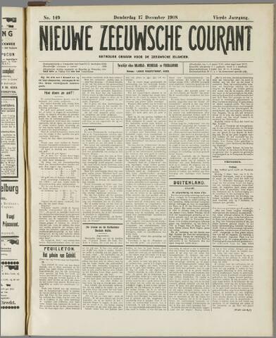 Nieuwe Zeeuwsche Courant 1908-12-17
