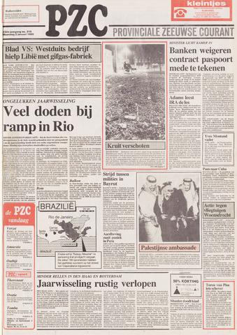Provinciale Zeeuwse Courant 1989