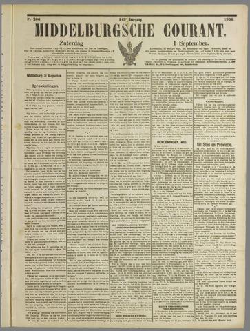 Middelburgsche Courant 1906-09-01