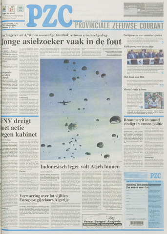 Provinciale Zeeuwse Courant 2003-05-20