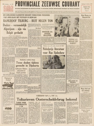 Provinciale Zeeuwse Courant 1965-10-16