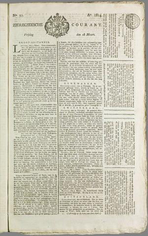 Zierikzeesche Courant 1814-03-18