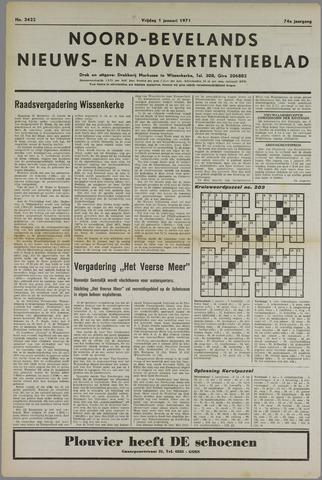Noord-Bevelands Nieuws- en advertentieblad 1971