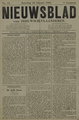 Nieuwsblad voor Zeeuwsch-Vlaanderen 1892-01-23