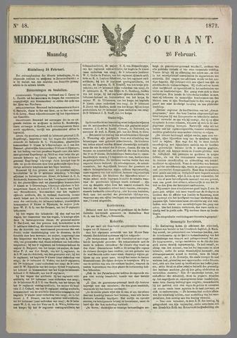 Middelburgsche Courant 1872-02-26