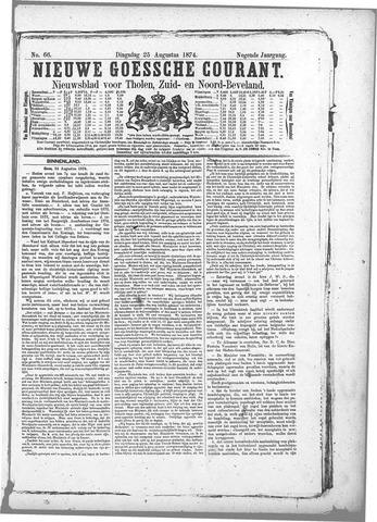 Nieuwe Goessche Courant 1874-08-25
