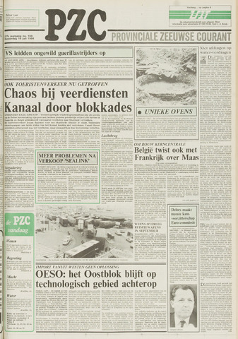 Provinciale Zeeuwse Courant 1984-07-19