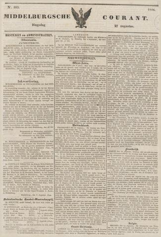 Middelburgsche Courant 1844-08-27
