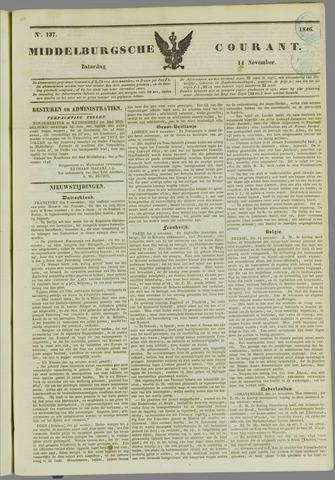 Middelburgsche Courant 1846-11-14