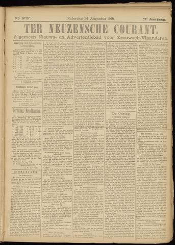 Ter Neuzensche Courant. Algemeen Nieuws- en Advertentieblad voor Zeeuwsch-Vlaanderen / Neuzensche Courant ... (idem) / (Algemeen) nieuws en advertentieblad voor Zeeuwsch-Vlaanderen 1918-08-24