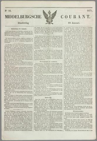 Middelburgsche Courant 1871-01-19