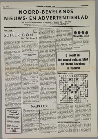 Noord-Bevelands Nieuws- en advertentieblad 1979-12-13