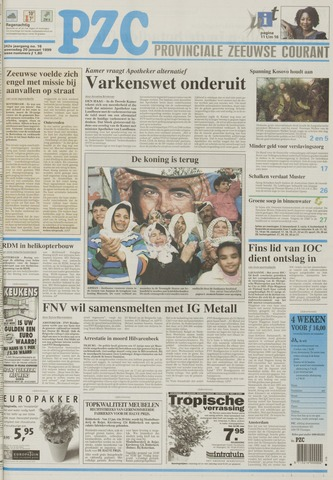 Provinciale Zeeuwse Courant 1999-01-20