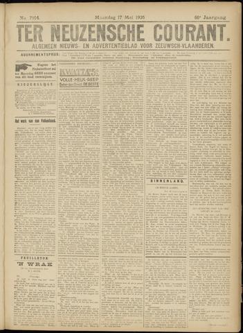 Ter Neuzensche Courant. Algemeen Nieuws- en Advertentieblad voor Zeeuwsch-Vlaanderen / Neuzensche Courant ... (idem) / (Algemeen) nieuws en advertentieblad voor Zeeuwsch-Vlaanderen 1926-05-17