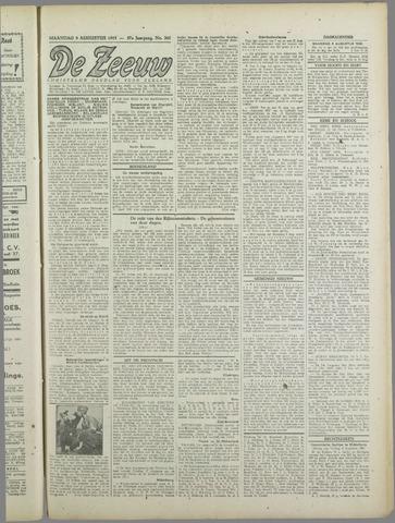 De Zeeuw. Christelijk-historisch nieuwsblad voor Zeeland 1943-08-09