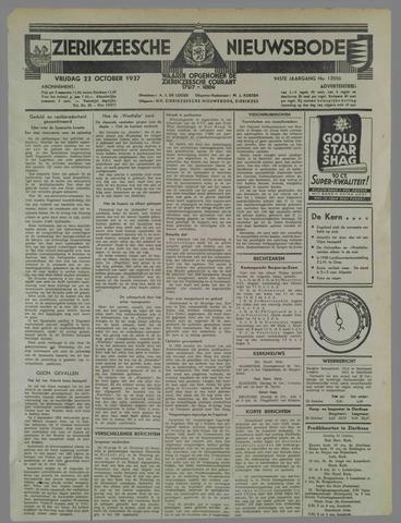 Zierikzeesche Nieuwsbode 1937-10-22