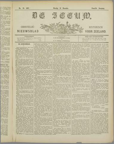 De Zeeuw. Christelijk-historisch nieuwsblad voor Zeeland 1897-11-16