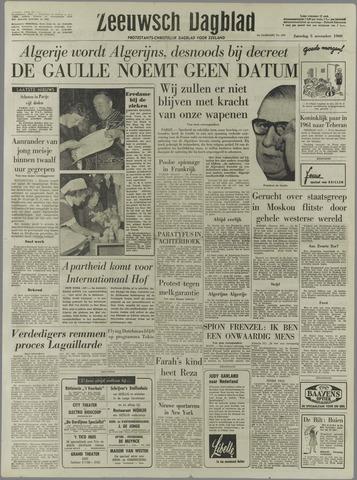 Zeeuwsch Dagblad 1960-11-05