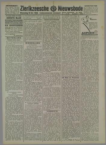 Zierikzeesche Nieuwsbode 1933-10-18