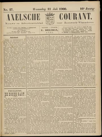 Axelsche Courant 1900-07-11