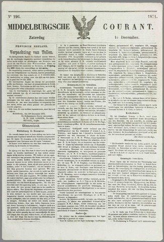 Middelburgsche Courant 1871-12-16