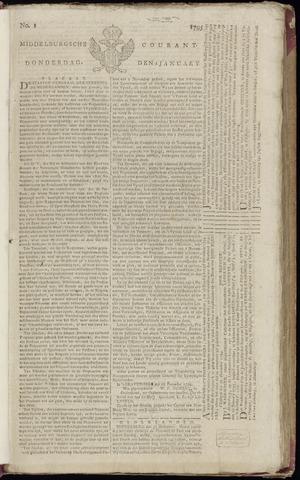 Middelburgsche Courant 1795