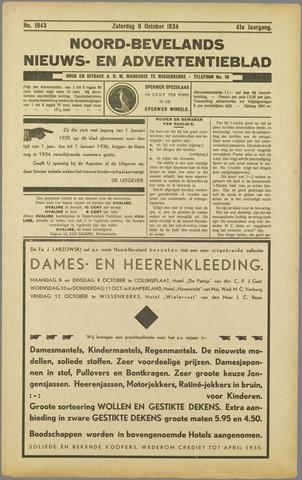 Noord-Bevelands Nieuws- en advertentieblad 1934-10-06