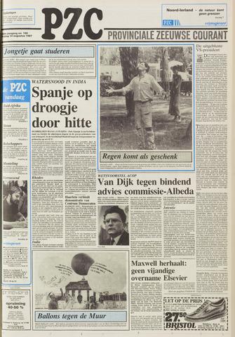 Provinciale Zeeuwse Courant 1987-08-14