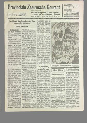 Provinciale Zeeuwse Courant 1940-10-07