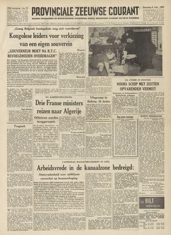 Provinciale Zeeuwse Courant 1960-02-06