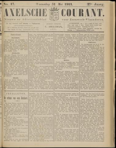 Axelsche Courant 1911-05-31