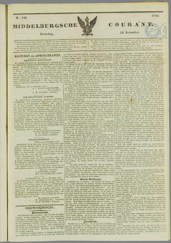 Middelburgsche Courant 1846-12-12
