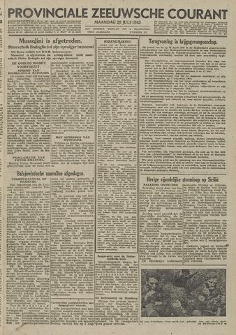 Provinciale Zeeuwse Courant 1943-07-26