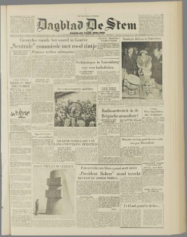 de Stem 1954-06-01