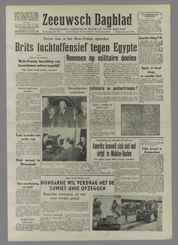 Zeeuwsch Dagblad 1956-11-01